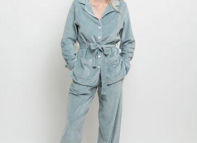 Homewear - Pyjama velours « Claire » - LALIDE A PARIS
