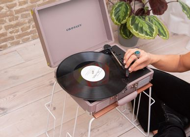 Speakers and radios - Record Player Crosley Cruiser Deluxe with Bluetooth Out  - CROSLEY RADIO