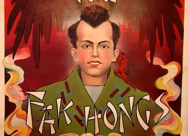 """Poster - """"FAK HONGS"""" Original poster in perfect condition - L'ATELIER D'ANGES HEUREUX"""