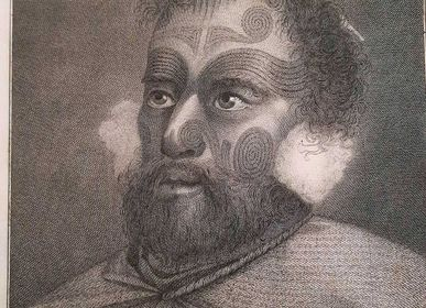 """Poster - """"Voyages of Captain Cook"""" original engravings - L'ATELIER D'ANGES HEUREUX"""