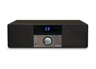 Speakers and radios - Crosley Metro CD player and Bluetooth Speaker Black - CROSLEY RADIO