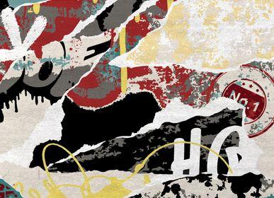 Rugs - Graffitified II Rug - RUG'SOCIETY