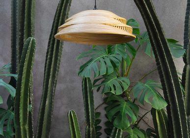 Hanging lights - JABRA handmade hanging lamp for living room, bedroom, kitchen, bamboo light - BAMBUSA BALI