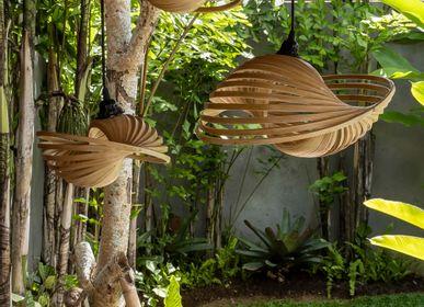Hanging lights - VERSA DUA handmade bamboo hanging lamp - BAMBUSA BALI