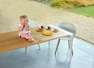 Tables Salle à Manger - TABLE DESIGN MARCELLO - Rectangulaire et carrée - Intérieur et extérieur - HAVANI