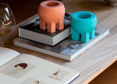 Vases - Pot de ventre - couleur vive - petit récipient minimaliste bol objet d'art - POAST ATELIER