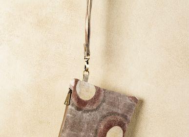 Bags and totes - ARTEADDOSSO hemp clutch - XENIA TURCHETTI