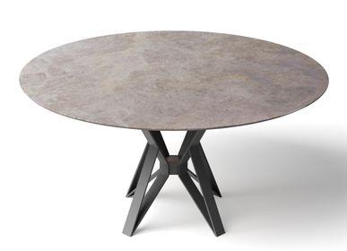 Tables Salle à Manger - PAPILLON TABLE DESIGN RONDE - Indoor & Outdoor (jardin) - HAVANI