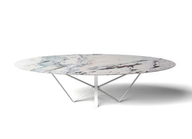 Tables Salle à Manger - TABLE DESIGN PAPILLON - OVALE/ELLIPS - intérieur et extérieur - HAVANI