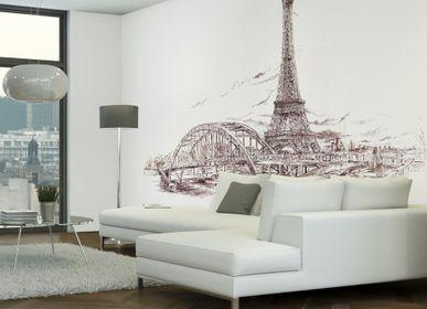 Papiers peints - Papier peint Paris Tour Eiffel  - INCREATION
