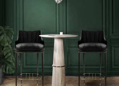 Chairs for hospitalities & contracts - PLUM BAR CHAIR - BRABBU