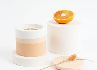 Objets de décoration - Peach candle - STUDIO ROSAROOM