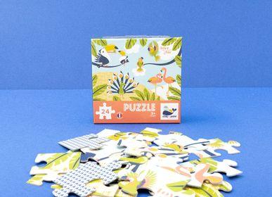 Jeux enfants - Puzzle 24 pièces Oiseaux - Made in France - COQ EN PATE