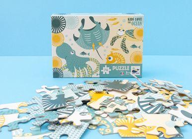 Jeux enfants - Puzzle 70 pièces Océan - Made in France - COQ EN PATE