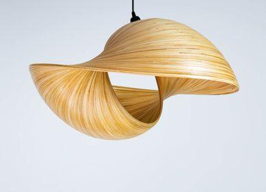 Objets de décoration - VERSA Lampe suspendue, lumière en bambou - BAMBUSA BALI