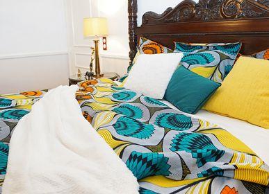 Bed linens - Pillowcases & duvet cover set - Prestige Collection - ROYAL PALMS - HÙMA HOME PARIS