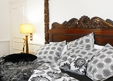 Bed linens - Pillowcases & duvet cover set - Prestige Collection - CRYSTAL - HÙMA HOME PARIS