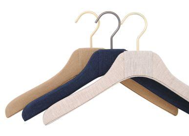 Homewear - Linen covered hangers - MON CINTRE