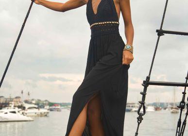 Prêt-à-porter - CROCHET HALTER DRESS - MON ANGE LOUISE