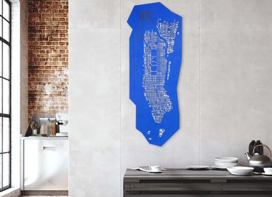Other wall decoration - Manhattan NYC city map - Wall decoration - FRANK&FRANK