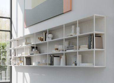 Bookshelves - WALLBOX hanging elements - EMMEBI HOME ITALIAN STYLE