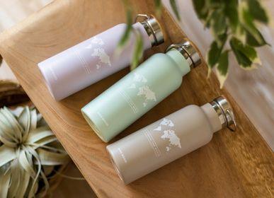Mugs - NEW! Miss Wood Bottle - Eco-friendly stainless steel bottle - MISS WOOD