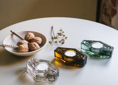 Decorative objects - Tea light holder - BRÛT HOMEWARE