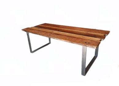 Tables Salle à Manger - Table longue durable avec base O - LIVING MEDITERANEO