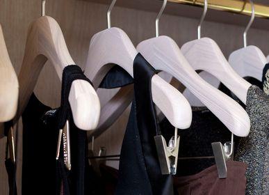 Homeweartextile - Collection de cintres pour le dressing de madame – blanc lasuré - MON CINTRE