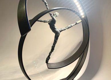 Sculptures, statuettes and miniatures - sculpture Like a feather - CATHERINE DE KERHOR - SCULPTEUR