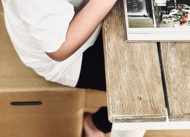 Tabourets - MULGEO H46 box-chair - MULGEO COPENHAGEN