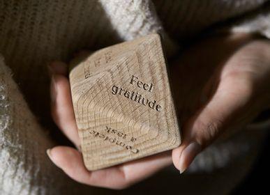 Objets design - Mindfulness Wooden Dice CC1 - CHICURA COPENHAGEN