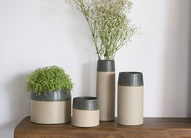 Floral decoration - ICON indoor ceramic pot  - D&M DECO
