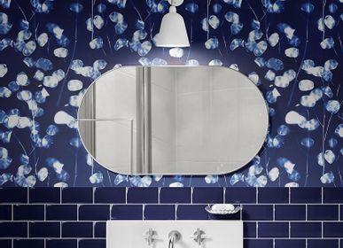 Other wall decoration - Wallpanel Cyanotype Lunaria Bleu Roi - PAPERMINT