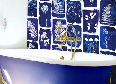 Other wall decoration - Wallpanel Cyanotype Botanicum Bleu Roi - PAPERMINT