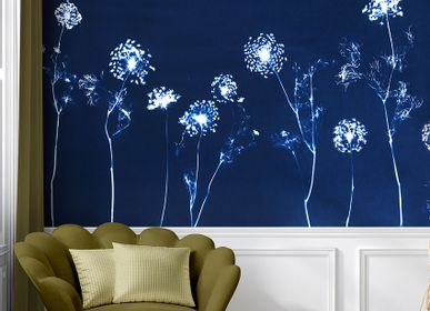Other wall decoration - Wallpanel Cyanotype Angelica Bleu Roi - PAPERMINT