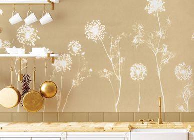 Other wall decoration - Wallpanel Cyanotype Angelica Jaune de Naples - PAPERMINT