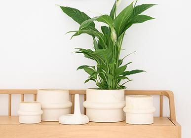 Ceramic - GIZMO indoor ceramic pot  - D&M DECO