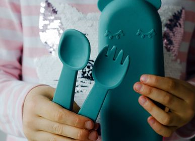 Children's mealtime - FEEDIE FORK & SPOON SET - WE MIGHT BE TINY FRANCE