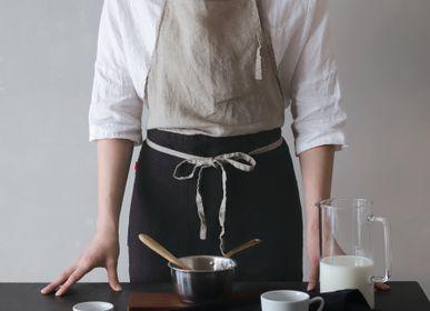 Kitchen linens - 100% Linen aprons, Anita, Carina, Sabine - LINO E LINA