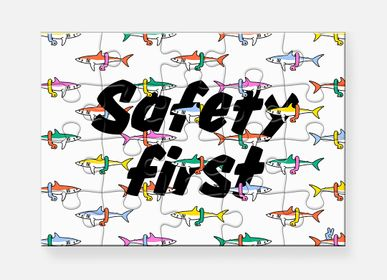 Decorative objects - Puzzle Safety First - PIECE & LOVE