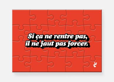 Decorative objects - Puzzle Créneau - PIECE & LOVE
