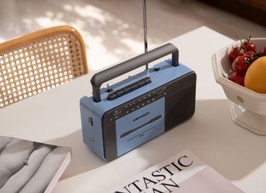 Enceintes et radios - Lecteur de cassettes Crosley CT102A bleu & gris - CROSLEY RADIO