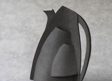 Decorative objects - EMA Trompe l'Oeil Pitcher - ANNE KRIEG, CERAMISTE