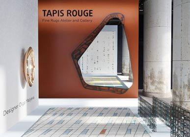 Design objects - P44 geometric pattern hand-knotted rug - TAPIS ROUGE