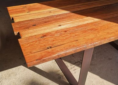 Other tables - Table Large model U-shaped durable wood base - LIVING MEDITERANEO