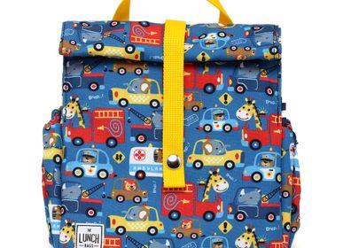 Cadeaux - Cars Original Sac Lunchbag pour enfant avec sangle jaune - THE LUNCHBAGS
