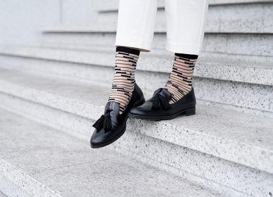 Socks - Shinjuku Black  - ATELIER ST EUSTACHE