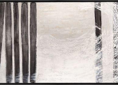 Paintings - LA OLA PAINTING - MONTXO OIARBIDE ART