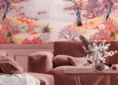 Other wall decoration - Wallpanel Bamboulino Crique Ocre rouge - PAPERMINT